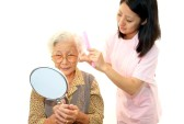 grooming hair for elderly