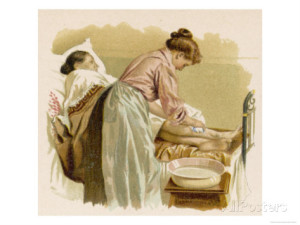 bathing-an-elderly-patient-who-is-bed-bound